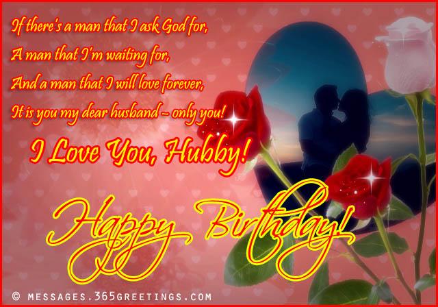 romantichappybirthdaywishesforhusband 365greetings – Husband Birthday Wishes Greetings
