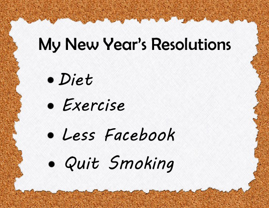 New Years Resolutions 365greetingscom