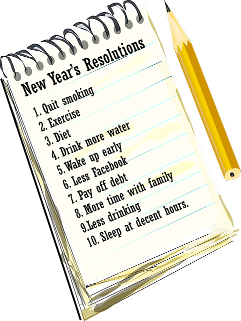 most common new years resolutions popular new years resolutions