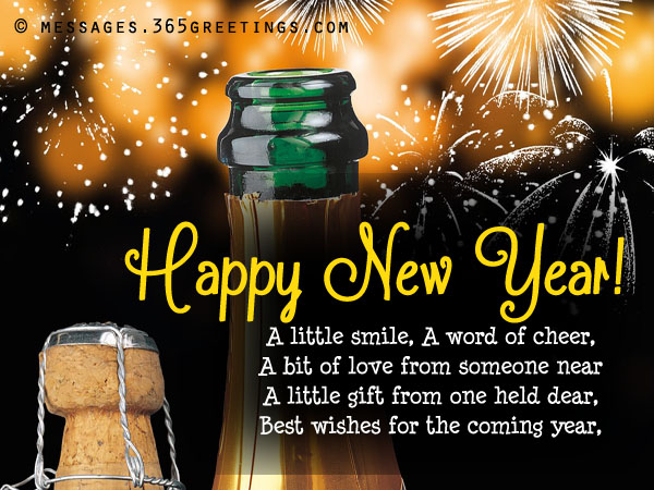 Happy New Year Thoughts In English 73