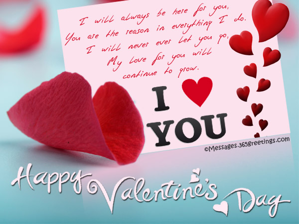 Valentines Day Messages Wishes and Valentines Day Quotes – Great Valentines Day Card Messages