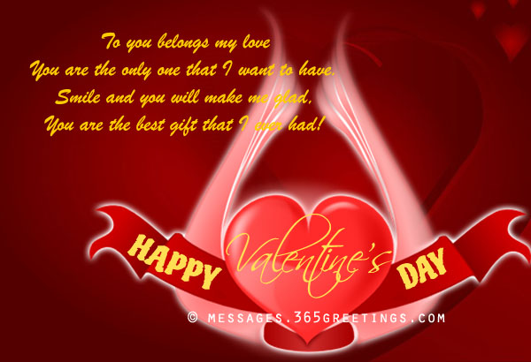 Valentines Day Messages Wishes and Valentines Day Quotes – Romantic Valentine Card Sayings