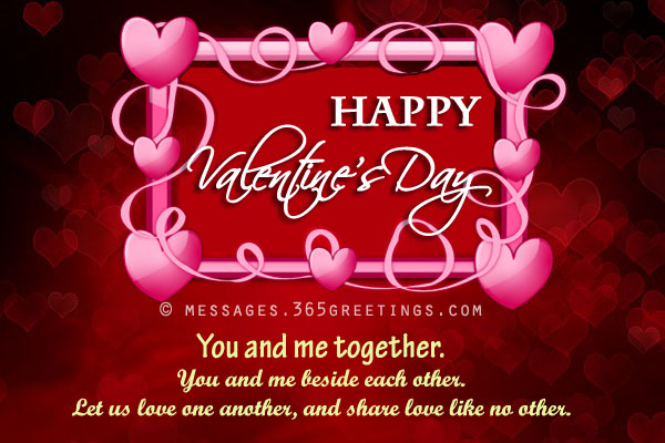 Valentines day messages wishes and valentines day quotes cute valentines day greetings romantic valentines day greetings m4hsunfo