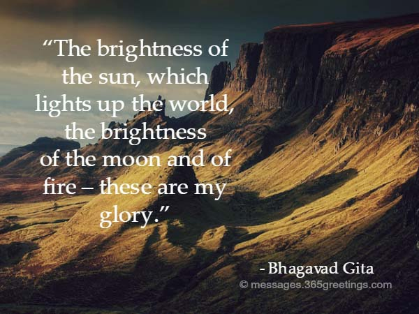 bhagavad gita quotes and sayings