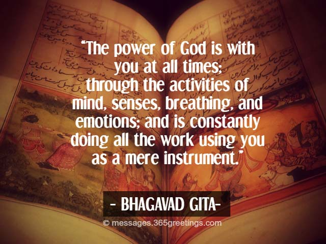 Souvent Bhagavad Gita Quotes - 365greetings.com JX02