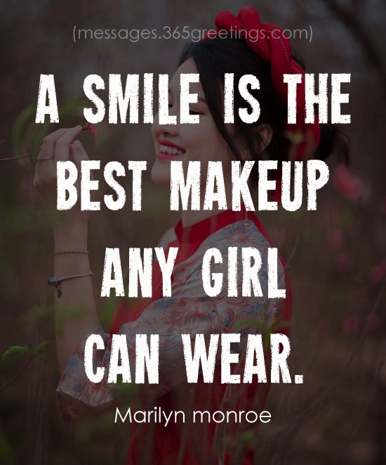 A Smile Is The Best Makeup Girl Can Wear Meaning In Hindi