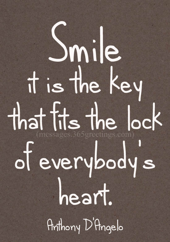 Top 40 Smile Quotes And Sayings With Image 40greetings Unique Smile Quote