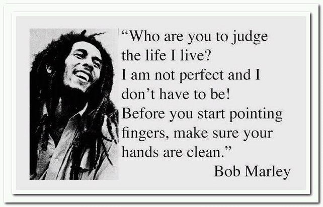 bob marley quotes about love only once in your life images