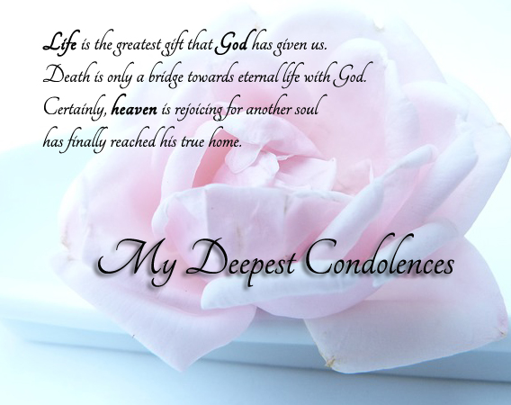 Condolence Wishes Messages