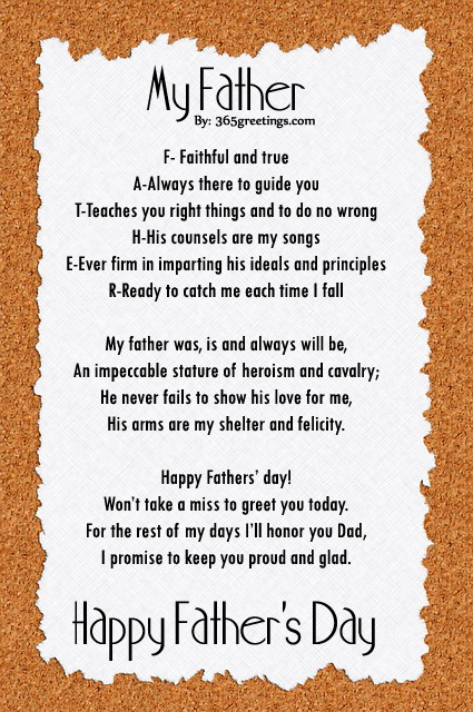 dad poems - photo #32