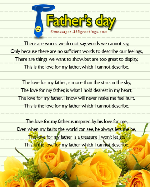Fathers Day Poems - 365greetings com