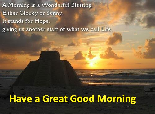 good morning quotes messages greetings and wishes