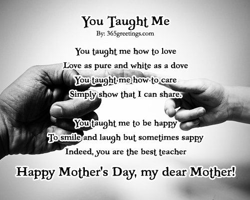 mothers day poems 365greetings com