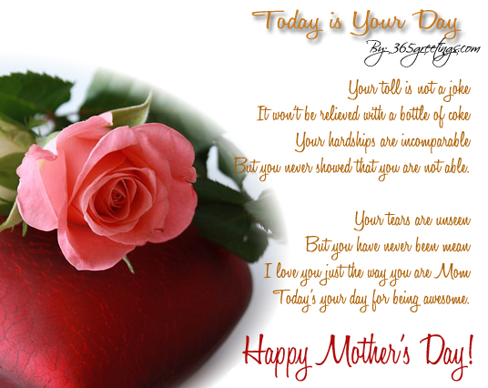mothers day poems - 365greetings, Ideas