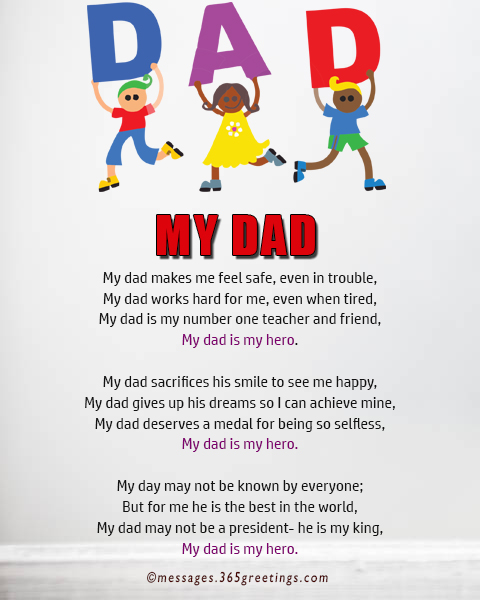 Fathers Day Poems 365greetingscom
