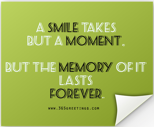 Quotes About Smiles Glamorous Smile Quotes  365Greetings