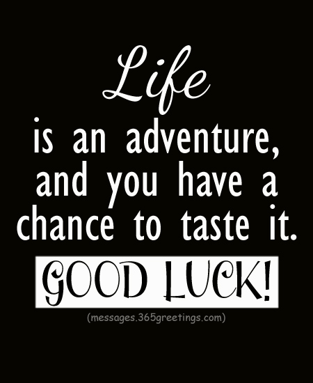 Inspiring Good Luck Quotes To Uplift Ones Spirit 365greetingscom