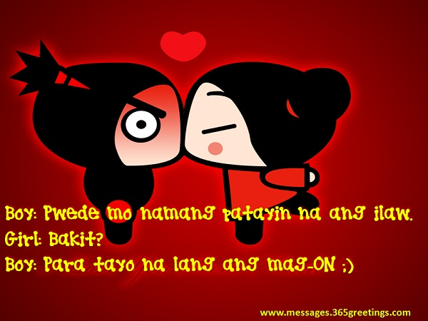 Love Quotes For Him Tagalog Pick Up Lines : Pick Up Lines Tagalog - 365greetings.com