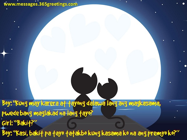 Pick Up Lines Tagalog Messages, Greetings and Wishes  Messages