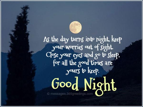 Best Goodnight Quotes 365greetingscom