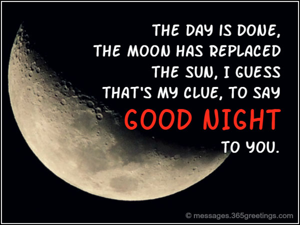 Goodnight Quotes And Sayings 365greetingscom