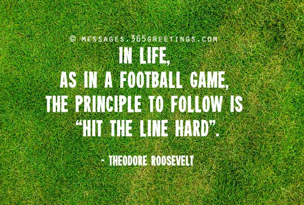 Best and Famous Football Quotes and Sayings - 365greetings.com
