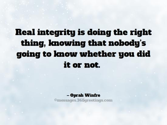 Quotes About Doing The Right Thing Oprah Winfrey Quotes Quote
