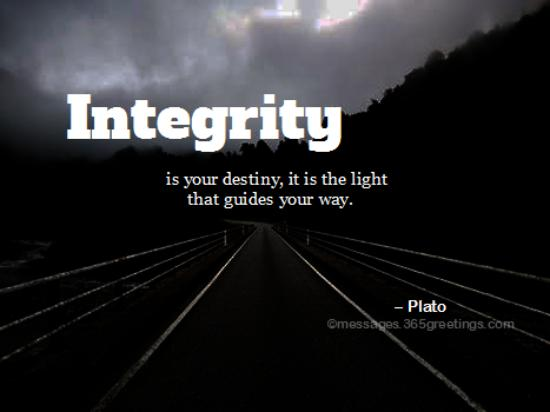Integrity Quotes and Sayings - 365greetings com