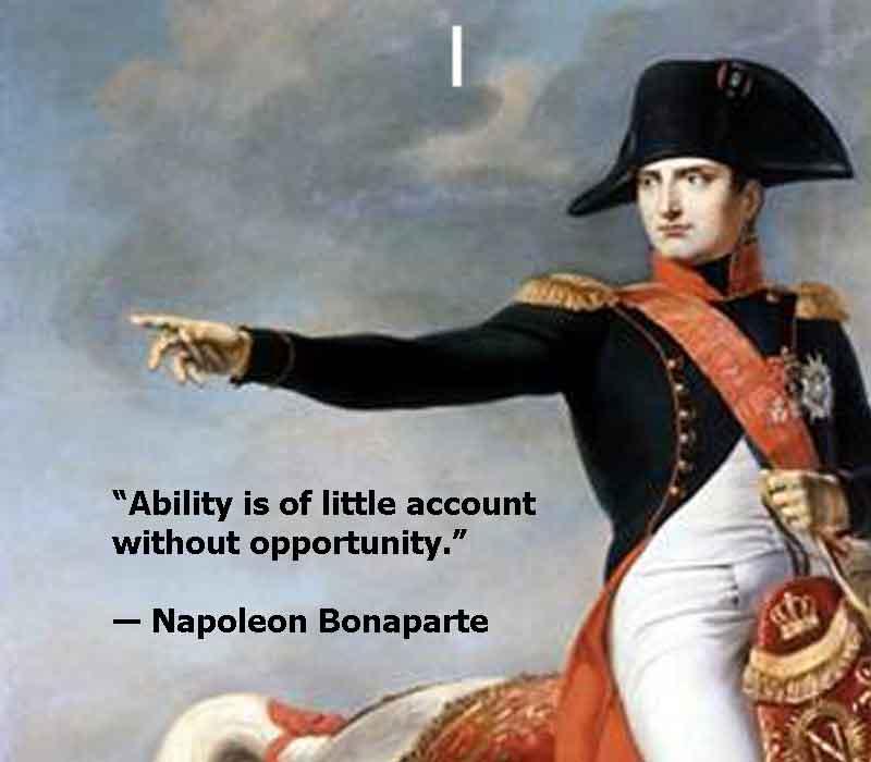 Napoleon Bonaparte, Napoleon Bonaparte image with quotes