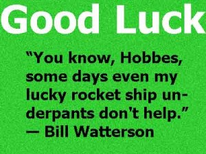 good luck image with quotes