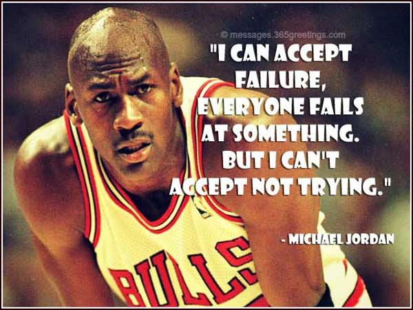 Quotes By Michael Jordan Endearing Michael Jordan Quotes  365Greetings