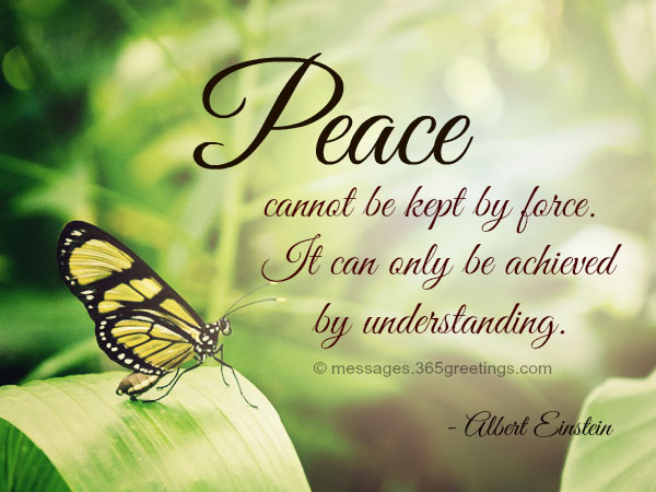 70+ Peace Quotes And Sayings