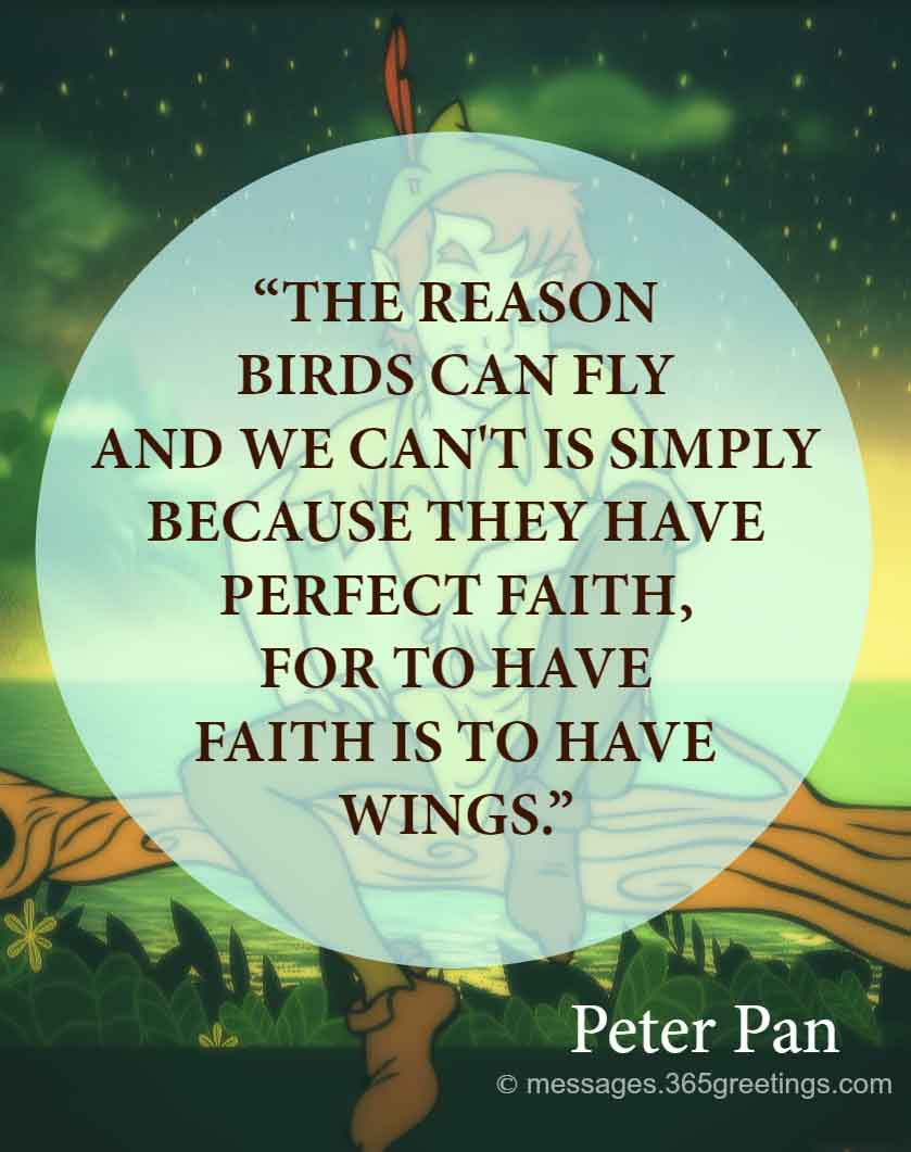 Peter Pan Quotes 365greetingscom