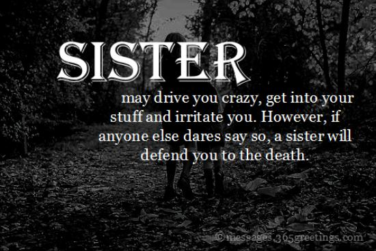 Top 60 Sisters Quotes and Sayings with Pictures   365greetings.com