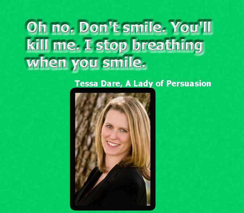 image of smile with quotes