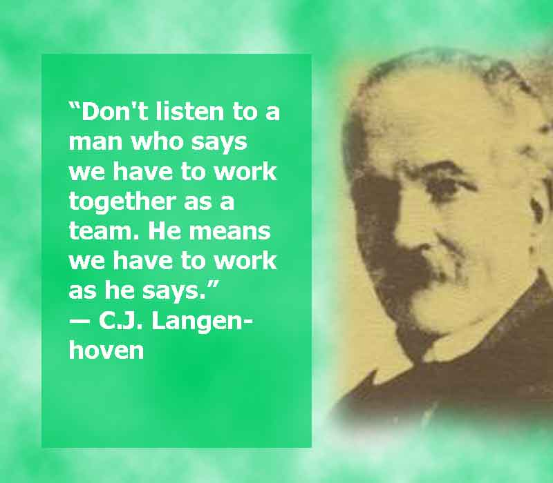 C.J. Langenhoven image with quotes, image and quotes together of C.J. Langenhoven