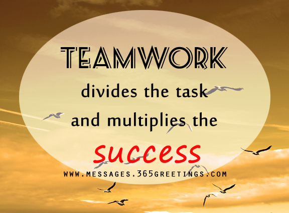 Teamwork Quotes For Work Simple Teamwork Quotes And Sayings  365Greetings