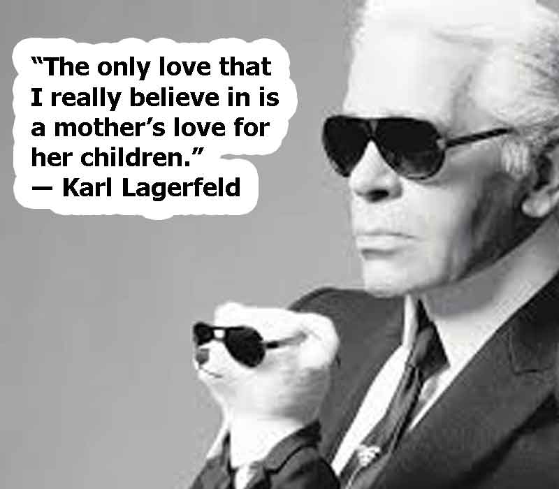 Karl Lagerfeld image, Karl Lagerfeld of quotes