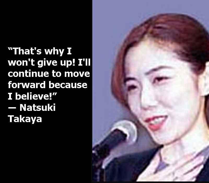 natsuki takaya with quotes, natsuki takaya quotes