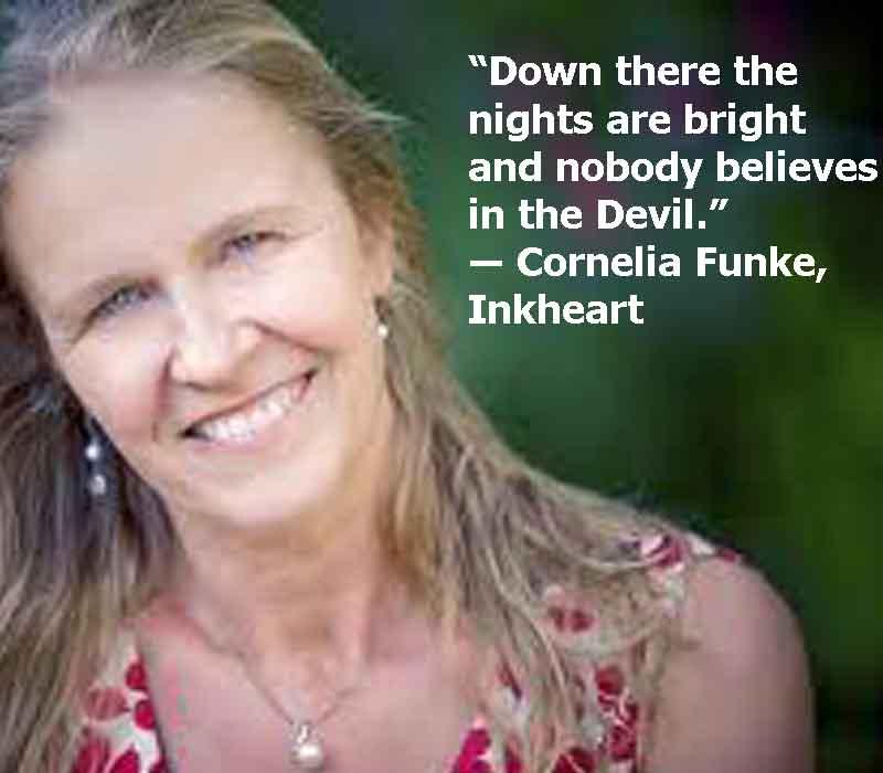 cornelia funke inkheart trust quotes, cornelia funke inkheart image