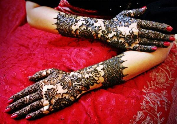 Mehndi Bridal Mehndi Design : Latest bridal mehndi designs greetings