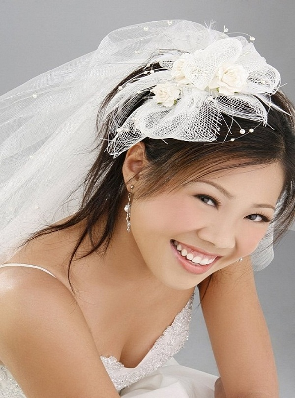 20. Asian Bridal Hairstyles