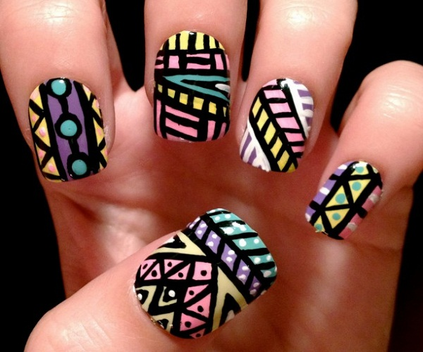 Cool Nail Art Designs - Simple Nail Art Designs For Beginners - 365greetings.com