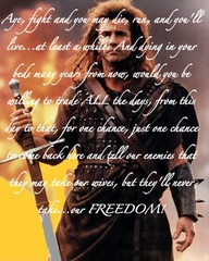 Braveheart Quotes - 365greetings.com