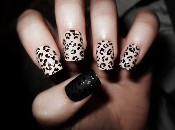Leopard Nail Art 365greetings