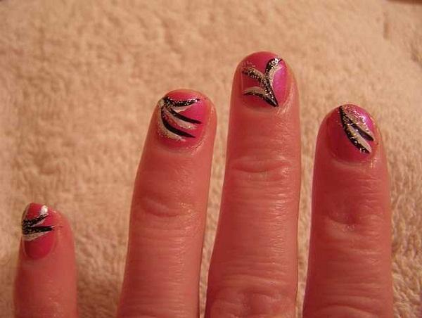 Nail Art For Really Short Nails Splendid Wedding Company