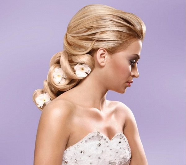Romantic Bridal Hairstyle : Romantic bridal hairstyles greetings