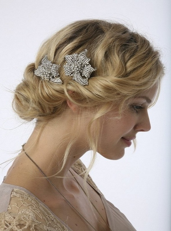 Fabulous Romantic Bridal Hairstyles Messages Greetings And Wishes Hairstyles For Men Maxibearus