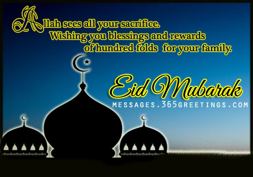 Eid mubarak wishes greetings and eid messages 365greetings eid mubarak wishes stopboris Images