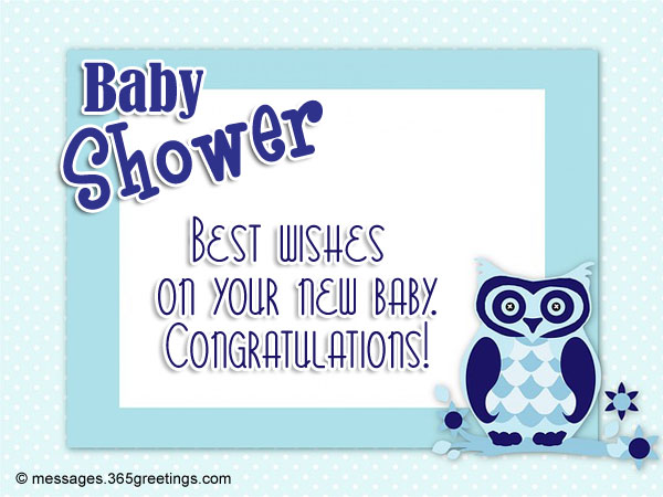 baby shower greetings